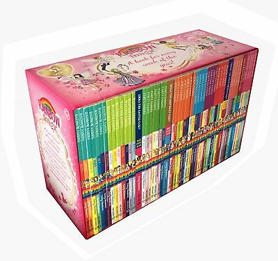 A Year of Rainbow Magic Boxed Collection 52 Books Set | Daisy Meadows PB NEW