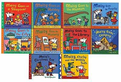 Maisy Mouse Loves Collection 10 Books Set Lucy Cousins Early Lear | Lucy Cousins