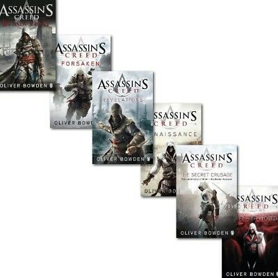 Assassins Creed 6 Books Collection Set | Oliver Bowden PB 9788729300908 NEW