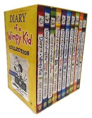 Diary of a Wimpy Kid 10 Books Boxed Set Collection Hard Luck, Thi | Kinney, Jeff