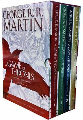 George R.R. Martin A Game of Thrones Graphic Novel 4 Books | Martin, George R.R.