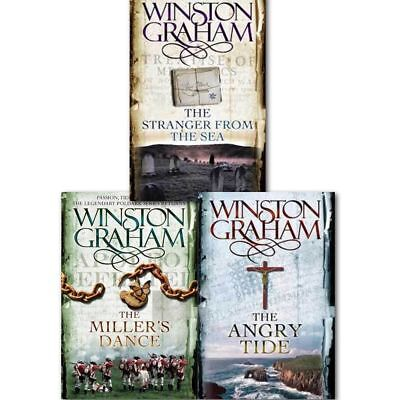 Winston Graham Poldark Series Trilogy Books 7, 8, 9, Collection 3 Books Set PB