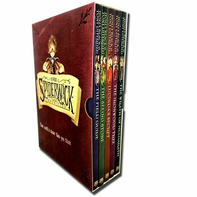 Spiderwick Chronicle Collection Holly Black 5 Books Set | Holly Black PB NEW