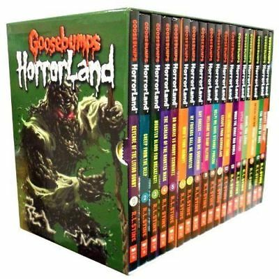 Goosebumps HorrorLand Collection 18 Books Box Set R L Stine  PB 9781407149141