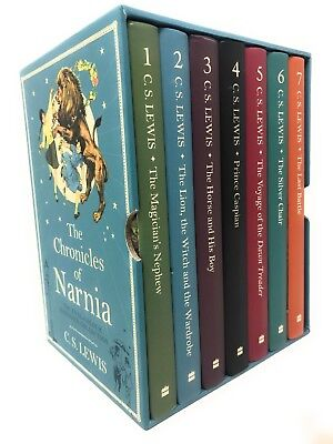 The Chronicles of Narnia Deluxe Hardback 7 Books Set Collection by | C. S. Lewis