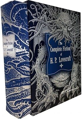 The Complete Fiction of H. P. Lovecraft Deluxe Editions Gift Set Pack Book HB