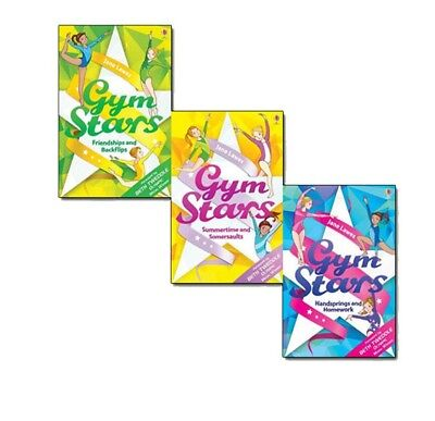 Jane Lawes Gym Stars Collection 3 Books Gift Set Pack Friendships a | Jane Lawes