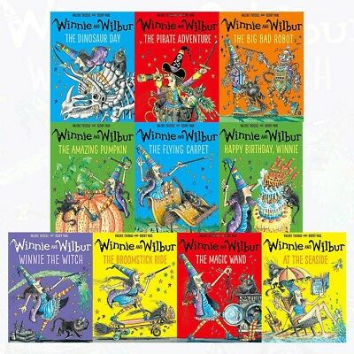 Winnie the witch Collection 10 Books Collection Set Valerie Thomas | Laura Owen