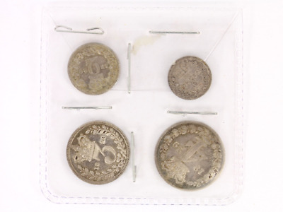 1829 Maundy Money Silver Coin Set George IV Georgian Vintage Ch69