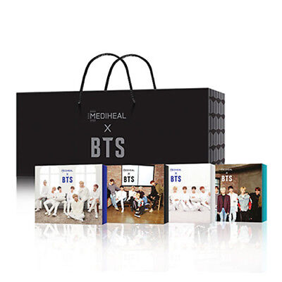 BANGTAN BOYS MEDIHEAL x BTS MASK PACK + PHOTOCARD SET SPECIAL LIMITED BOX SET