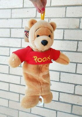 Disney Winnie The Pooh Plush Toy Musical Mobile Baby Pull Nursery Windup Tags
