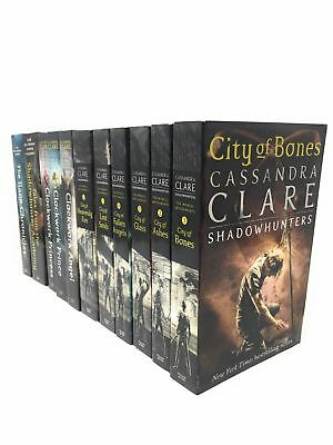 Cassandra Clare Mortal Instruments and Infernal Devices 11 books Cassandra Clare