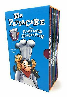 Mr Pattacake The Complete Collection 10 Books Box Set - Pirat | Stephanie Baudet
