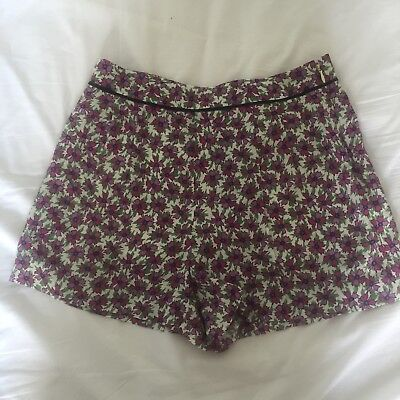 Ken Scott For Miu Miu Floral Shorts, UK size 6 New without tags