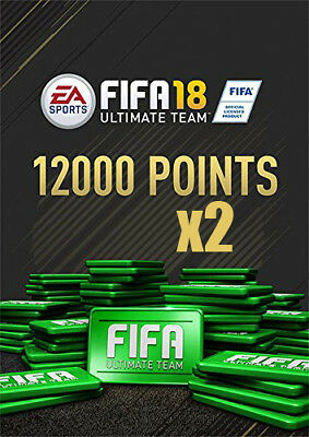 Pack 12 000 x 2 FIFA 18 Points | PC Download - Origin Code WorldWide