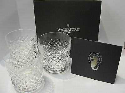 Waterford Crystal Alana Old Fashion 9oz Glass 6011322300- Set of 3