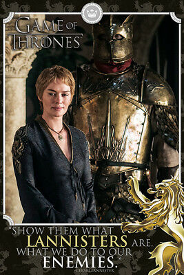 Game Of Thrones Cersei Maxi Poster Print 61x91.5cm | 24x36 inches Lannister HBO