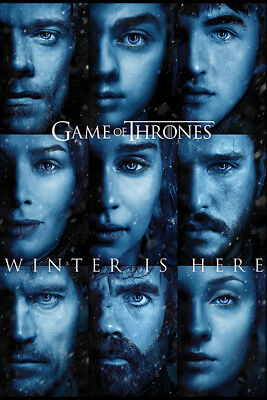 Game Of Thrones Winter is Here Maxi Poster Print 61x91.5cm | 24x36 inches