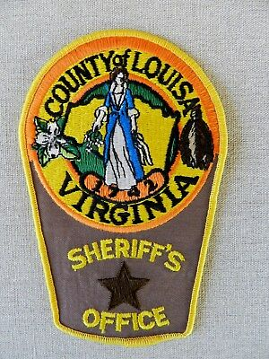 Louisa County Sheriff's Office Patch (Virginia) (Unused/Mint)