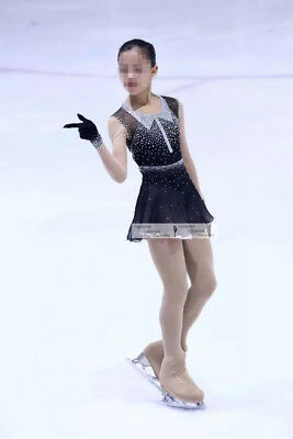 Ice skating dress Custom Girls Competition Figure Skating Costume Dance Y013