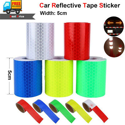 3m Car Truck Reflective Safety Warning Conspicuity Roll Tape Sticker Decal Film