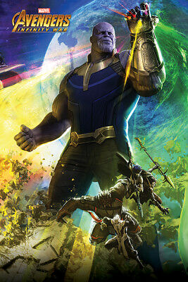 Avengers: Infinity War Thanos Maxi Poster Print 61x91.5cm | 24x36 inches