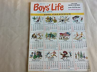 Boys Life Magazine January 1961 Chrysler Ad Inside Cover
