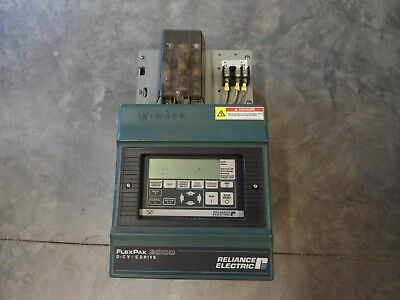 Reliance FLEXPAK 3000 DC Drive    5/10HP    230/460V     10FN4032