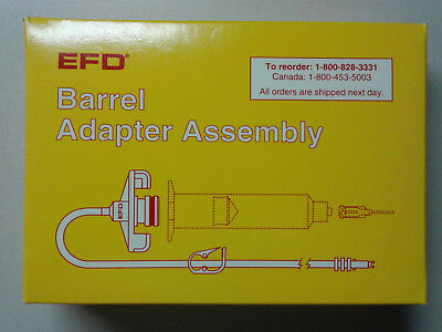 EFD 30cc Barrell Adapter Assembly 1000D5152, Nordson