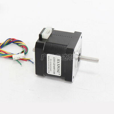 NEMA 17 Twin Double Shaft Stepper Motor 43Ncm 1.5A For CNC Router 3D Printer