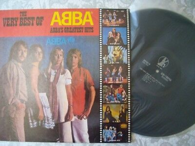 *** ABBA ***  LP - The very best of ABBA