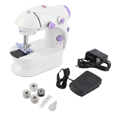 Multifunction Electric Mini Sewing Machine Household Desktop With LED LM