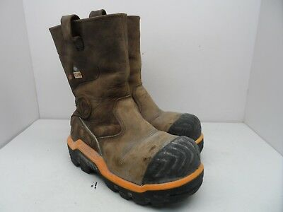 Dunlop Men's Protective Composite Safety Toe DLNA16102 Work Boot Brown Size 8M