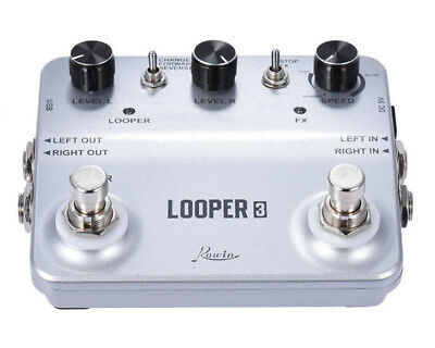 ROWIN LTL-01 Twin Looper Effector for Musical Instrument  -  CHAMPAGNE GOLD