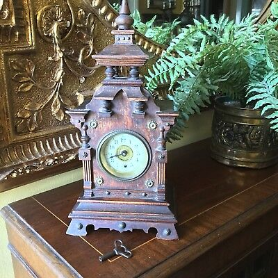 Antique Musical Alarm Clock
