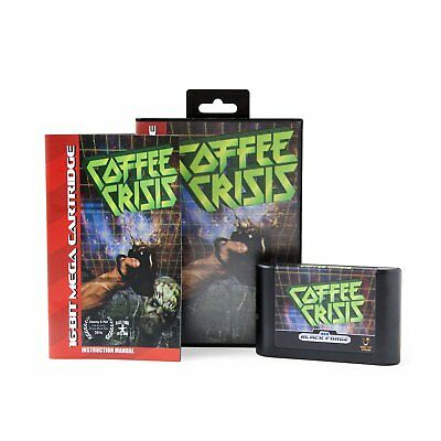 Coffee Crisis - Game for the Sega Genesis Console - Mega Cat Studios