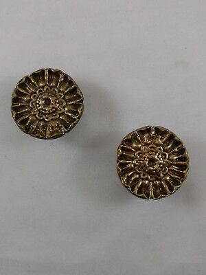(8) Vintage Brass Drawer Pulls and Knobs