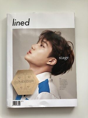 Exo Kai Cover Lined Magazine. No Longer In Print