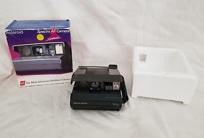 Polaroid Special Edition Spectra System ONYX Camera Transparent Body Tested