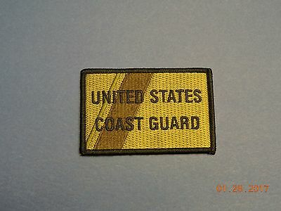 US Coast Guard United States Subdued Green USCG Military Patch #Q08