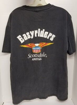 Vintage Easyriders ghostrider 90s -tag Scottsdale AZ Motorcycle Club t-shirt VQ