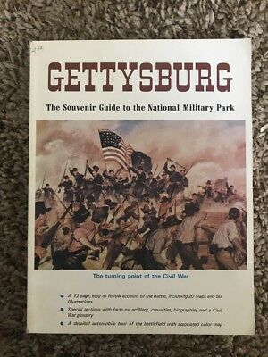 1971 Gettysburg: The Souvenir Guide to the National Military Park-Excellent
