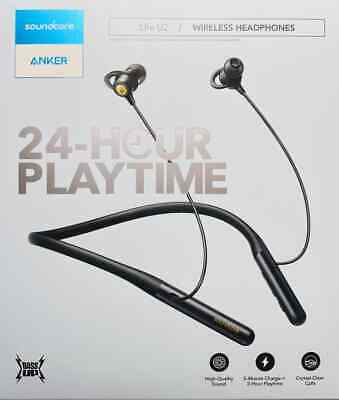 Anker SoundBuds Life Wireless Bluetooth Headphones Lightweight Neckband IPX-5