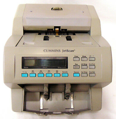 Cummings Jetscan 4062 Currency/note/bill Scanner With Counterfeit Detection