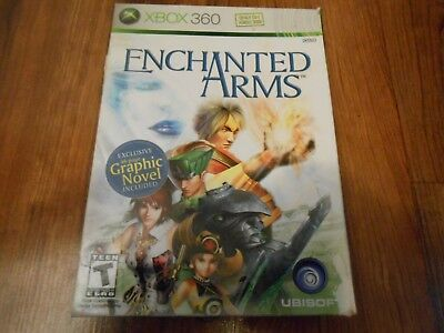Enchanted Arms Novel Edition Microsoft XBox 360 Video Game - CIB Complete in Box