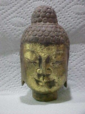 Vintage Handcrafted Natural Stone Buddah Head