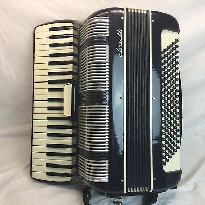 Vintage Serenelli Accordion 41/ 120 Bass Italy w/ Case