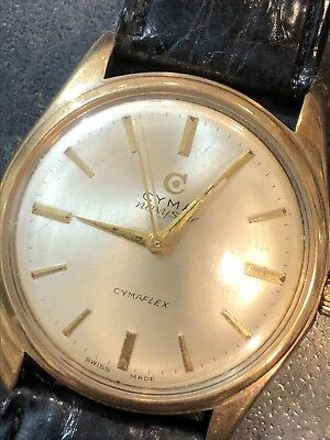 Vintage SOLID 9ct gold CYMA Mechanical Wind Up Watch