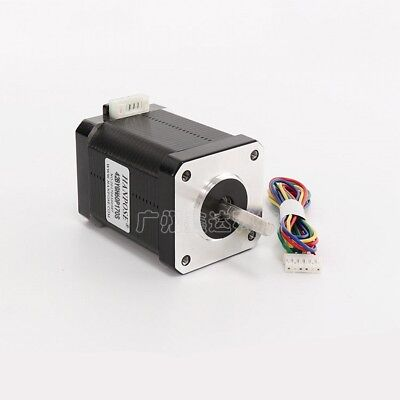 NEMA 17 Stepper Motor 42BYGH60 12V For CNC Reprap 3D Printer Extruder 73Ncm 1.7A