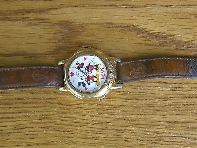 old Mickey Mouse and Minnie LOVE watch by LORUS